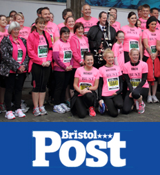 Bristol 10k team have raised £10,000 for BUST
